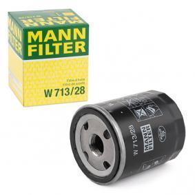 800 (XS) MANN-FILTER Семеринг, диференциал W 713/28