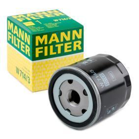 4228326 pour FIAT, ALFA ROMEO, LANCIA, Filtre à huile MANN-FILTER (W 714/3) Boutique en ligne