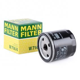 46468378 for FIAT, ALFA ROMEO, IVECO, LANCIA, Oil Filter MANN-FILTER (W 714/4) Online Shop