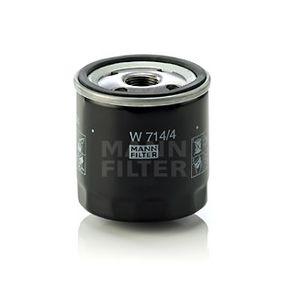 MANN-FILTER FIAT PUNTO Sistema de ventilación del cárter (W 714/4)