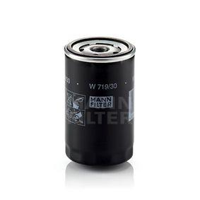 MANN-FILTER Ölfilter ABD mit einem Rücklaufsperrventil Art. Nr W 719/30 günstig