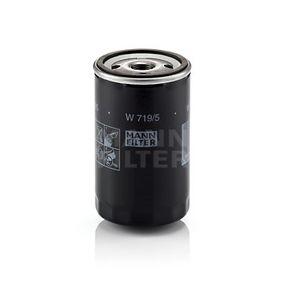 MANN-FILTER Oil Filter (W 719/5) at low price