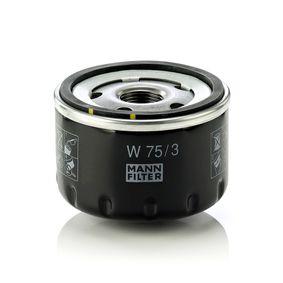 Bomba de limpiaparabrisas MANN-FILTER (W 75/3) para NISSAN MICRA precios