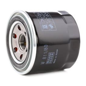 Oil filter W 811/80 MANN-FILTER