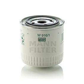 MANN-FILTER W 916/1 Filtre à huile OEM - 0003897991 AUDI, SEAT, SKODA, VOLVO, VW, VAG, WIESMANN, NPS à bon prix