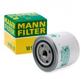 Filtre à huile MANN-FILTER Art.No - W 920/21 OEM: 9975161 pour OPEL, CHEVROLET, SAAB, DAEWOO, GMC récuperer