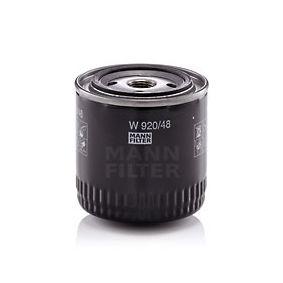 MANN-FILTER Filtro recirculación de gases (W 920/48)