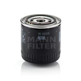 MANN-FILTER Ölfilter (W 920/6) niedriger Preis
