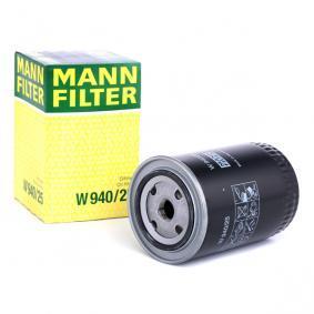 83064 για VW, Φίλτρο λαδιού MANN-FILTER (W 940/25) Ηλεκτρονικό κατάστημ