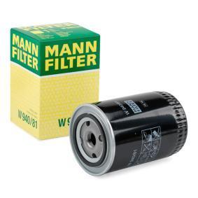 12574927 για VOLVO, Φίλτρο λαδιού MANN-FILTER (W 940/81) Ηλεκτρονικό κατάστημ