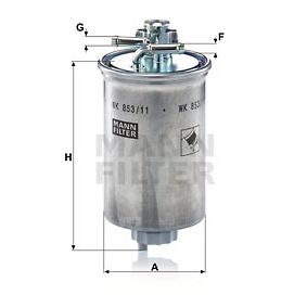 XM219A011AA für FORD, FORD USA, Kraftstofffilter MANN-FILTER (WK 853/11) Online-Shop