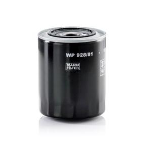 MANN-FILTER Filtro de aceite motor (WP 928/81)