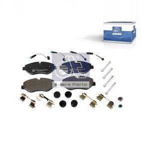 Bremsbelagsatz, Scheibenbremse DT Art.No - 4.90938 OEM: 2E0698151 für VW, MERCEDES-BENZ, AUDI, SKODA, SEAT kaufen