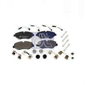 DT Bremsbelagsatz, Scheibenbremse 2E0698151 für VW, MERCEDES-BENZ, AUDI, SKODA, SEAT bestellen
