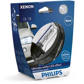 42403WHV2S1 Крушка с нагреваема жичка, фар за дълги светлини от PHILIPS качествени части