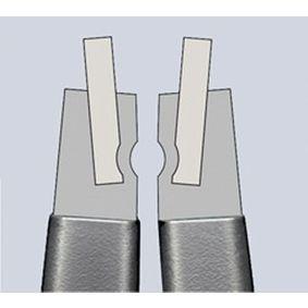 49 11 A4 Pinza per anelli di sicurezza di KNIPEX attrezzi di qualità