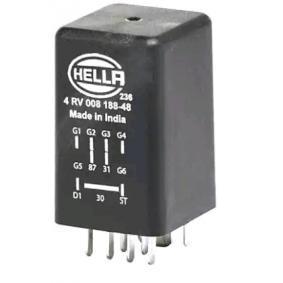 HELLA Управляващ блок, време за подгряване 4RV 008 188-481