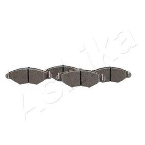 Bremsbelagsatz, Scheibenbremse ASHIKA Art.No - 50-00-0010 kaufen