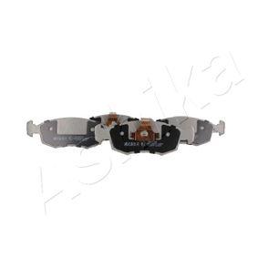 Bremsbelagsatz, Scheibenbremse ASHIKA Art.No - 50-00-0017 OEM: 71738152 für FIAT, ALFA ROMEO, LANCIA kaufen