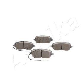 ASHIKA Pastilla de freno 50-00-0028
