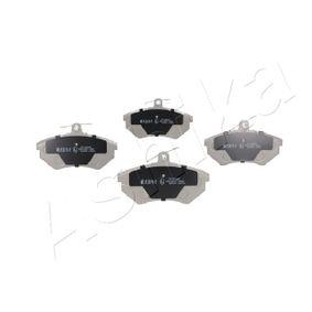 Bremsbelagsatz, Scheibenbremse ASHIKA Art.No - 50-00-0083 OEM: 357698151D für VW, AUDI, SKODA, SEAT kaufen