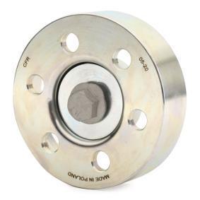 CAFFARO Tensioner pulley, v-ribbed belt 500048