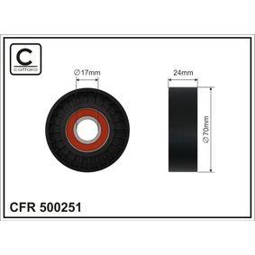 Octavia II Combi (1Z5) CAFFARO Napinaci kladka, zebrovany klinovy remen 500251