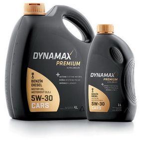 VW 507 00 Moottoriöljy (500521) merkiltä DYNAMAX ostaa