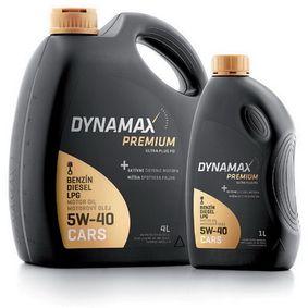 NISSAN PRIMERA Motorenöl 501260 von DYNAMAX Original Qualität