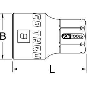 KS TOOLS Piezas insertables de llave de cubo 503.4980 tienda online