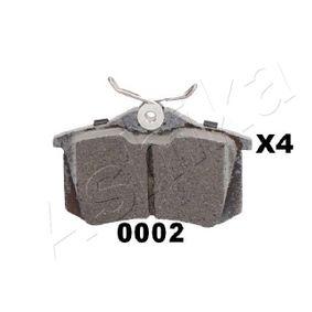 ASHIKA Bremsbelagsatz, Scheibenbremse 1H0698451H für VW, AUDI, SKODA, PEUGEOT, SEAT bestellen