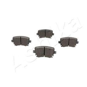 ASHIKA Bremsbelagsatz, Scheibenbremse 8E0698451M für VW, AUDI, SKODA, SEAT, HONDA bestellen