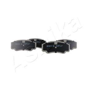Bremsbelagsatz, Scheibenbremse ASHIKA Art.No - 51-00-00010 OEM: 425468 für FIAT, PEUGEOT, CITROЁN kaufen