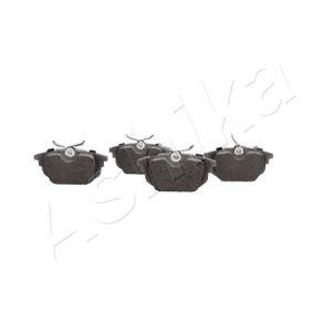 ASHIKA Bremsbelagsatz, Scheibenbremse 71771780 für FIAT bestellen