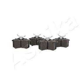 ASHIKA Bremsbelagsatz, Scheibenbremse 3B0698451 für VW, AUDI, SKODA, SEAT, HONDA bestellen