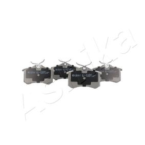 Jogo de pastilhas para travão de disco ASHIKA Art.No - 51-00-00018 OEM: 425232 para VW, RENAULT, PEUGEOT, AUDI, FORD ordem