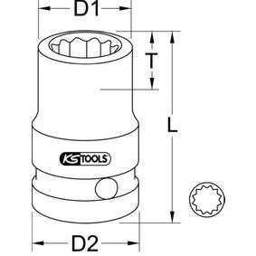KS TOOLS Kraft-Stecknuss 515.0988 Online Shop