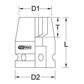 KS TOOLS Kracht, dopsleutel 515.1515 online winkel