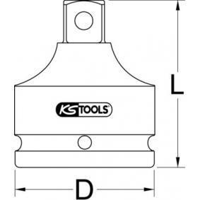 Преходен адаптер, тресчотка от KS TOOLS 515.1798 онлайн