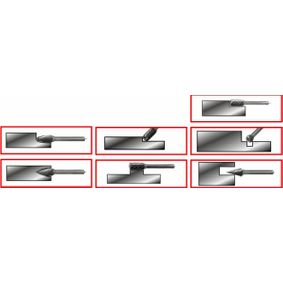 515.3207 Kit de fresas de KS TOOLS ferramentas de qualidade