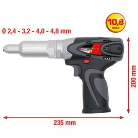515.4104 Slepy nyt, pistole od KS TOOLS kvalitní nářadí