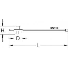 KS TOOLS Disc gradat pentru masurare unghi rotatie (516.1196) la un preț favorabil