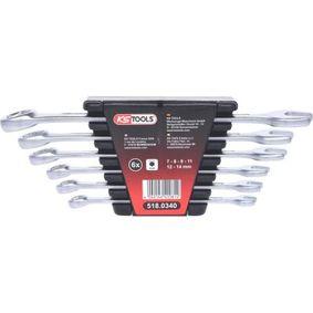518.0340 Bremsleitungs-Schlüsselsatz von KS TOOLS Qualitäts Ersatzteile