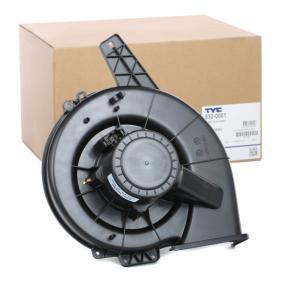 6Q1820015G für VW, AUDI, SKODA, SEAT, VOLVO, Innenraumgebläse TYC (532-0001) Online-Shop