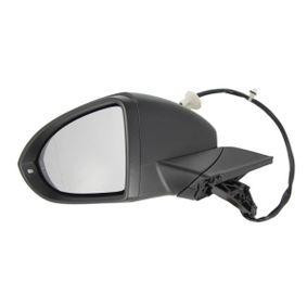 Außenspiegel BLIC Art.No - 5402-01-2002641P OEM: 5G0857521 für VW, SKODA, SEAT kaufen