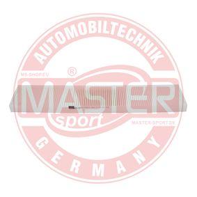 MASTER-SPORT Filter, Innenraumluft 1113627 für VW, AUDI, FORD, SKODA, SEAT bestellen
