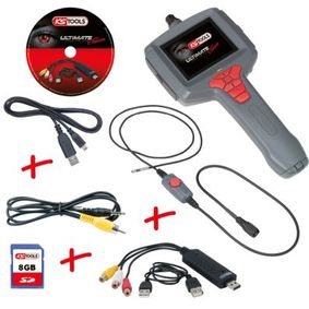 Video-endoscoopset 550.7049-2014 KS TOOLS