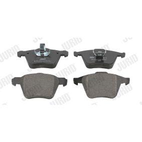 Bremsbelagsatz, Scheibenbremse JURID Art.No - 573143J OEM: 30769125 für VOLVO, SATURN kaufen