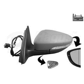 VAN WEZEL Außenspiegel 3C8857537GRU für VW bestellen