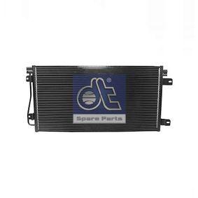 Kondensator, Klimaanlage DT Art.No - 6.73154 OEM: 7701049665 für OPEL, RENAULT, NISSAN, VOLVO, VAUXHALL kaufen